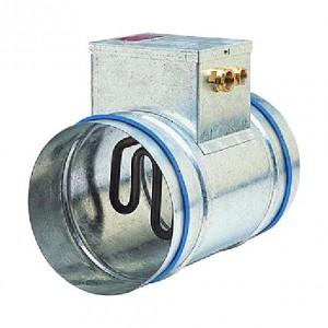 Batterie terminale électrique circulaire en gaine pour chauffage d'air conditionnement d'air pré-chauffage maintient en température T°C