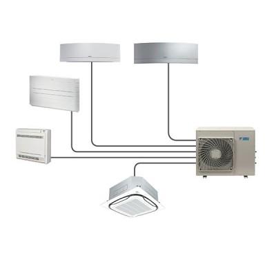 Climatisation Multisplit Réversible unité extérieure climatisation chauffage pompe à chaleur Daikin air frais air chaud - Climatisation - EICSO Distribution