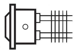 Boîtier IP55 en Alu Epoxy pour résistance à ailettes