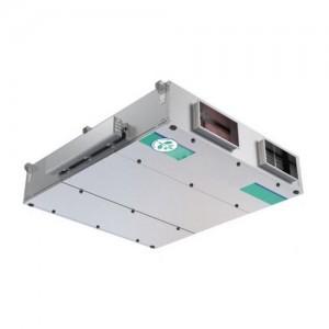 Centrales double flux rectangulaires régulation intégrée conditionnement traitement d'air chaud air frais économies d'énergie haut rendement - EICSO Distribution