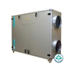 Centrale double flux régulation intégrée conditionnement traitement d'air chaud air frais économies d'énergie haut rendement - EICSO Distribution