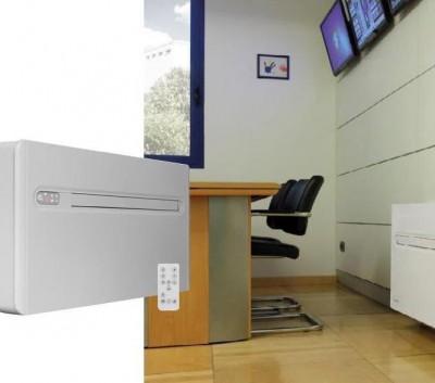 Climatiseur mono-bloc réversible chauffage climatisation airs chaud airs frais tertiaire résidentiel