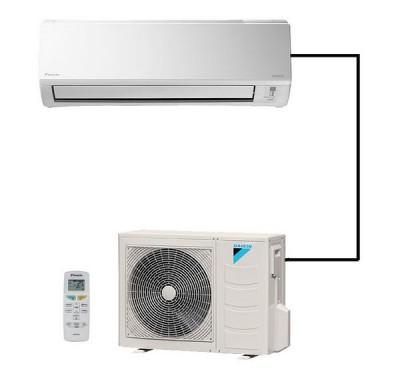 Climatisation Monosplit Réversible unité extérieure climatisation chauffage pompe à chaleur air frais air chaud Daikin - Climatisation - EICSO Distribution