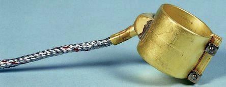 Collier chauffant électrique chauffage de solide tuyauterie maintient en température T°C