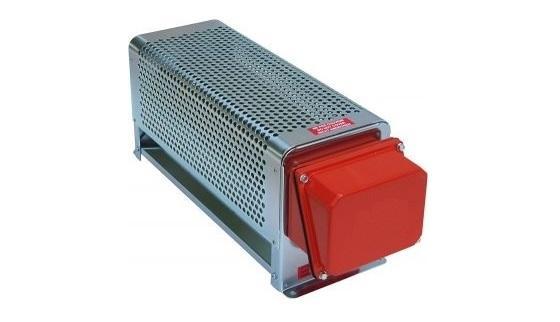 Radiateur électrique industriel chauffage d'air et de gaz thermostat 230 400V
