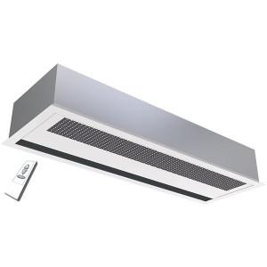 Rideau d'air encastré électrique ou eau chaude conditionnement d'air, limite d'échanges thermique, ventilation, chauffage d'air, rafraîchissement d'air