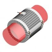 Collier chauffant résistance électrique chauffage de solide tuyauterie maintient en température T°C