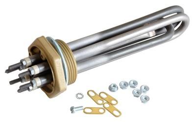 Thermoplongeur à visser résistance électrique industrielle chauffage de liquides ATEX