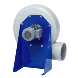 Ventilateur centrifuge anti-corrosion plastique industriel réseau de ventilation extraction insufflation d'air conditionnement d'air - EICSO Distribution