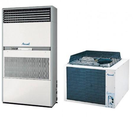 Armoire verticale à air pour salles informatiques chauffage climatisation air chaud air frais