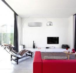 Climatisation Split Mural Design Réversible unité intérieure climatisation chauffage pompe à chaleur Daikin air frais air chaud - Climatisation - EICSO Distribution