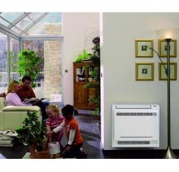 Climatisation Console Murale Réversible unité intérieure climatisation chauffage pompe à chaleur Daikin air frais air chaud - Climatisation - EICSO Distribution