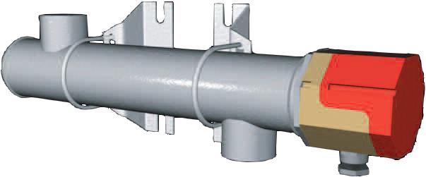 Réchauffeur de fluides électrique industrielle chauffage de fluides liquides gaz ATEX