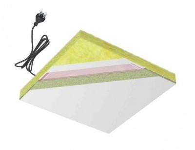 Plafond rayonnant modulaire électrique, chauffage de solide, personnes, industriel, tertiaire