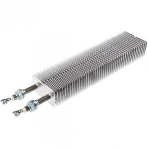 Résistances électrique à ailettes rectangulaires chauffage d'air et de gaz maintient en température T°C mise hors gel