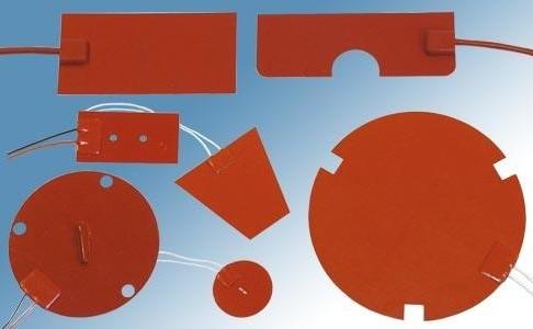 Tissu Chauffant Résistance électrique silicone souple auto-collante