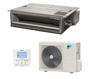 Climatisation Gainable Réversible climatisation chauffage pompe à chaleur Daikin air frais air chaud - Climatisation - EICSO Distribution