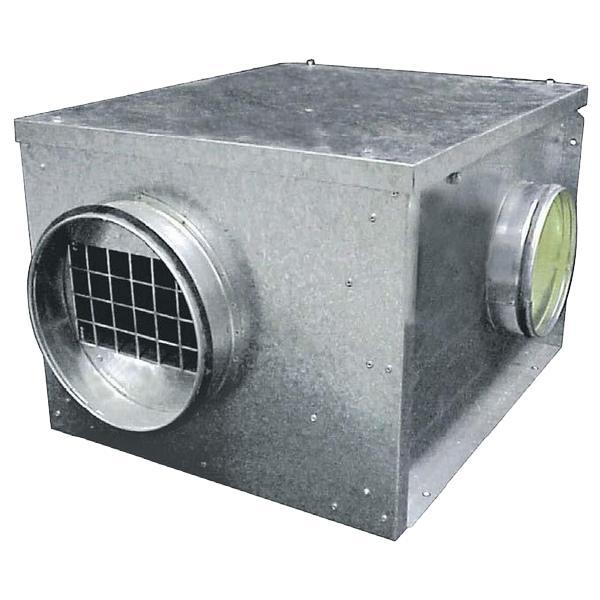 Caisson d'extraction 400°C 1/2h ventilation tertiaire résidentielle - EICSO Distribution
