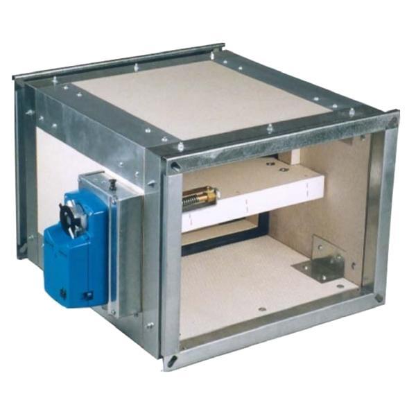 Clapet coupe feu rectangulaire , sécurité incendie, ventilation - EICSO Distribution