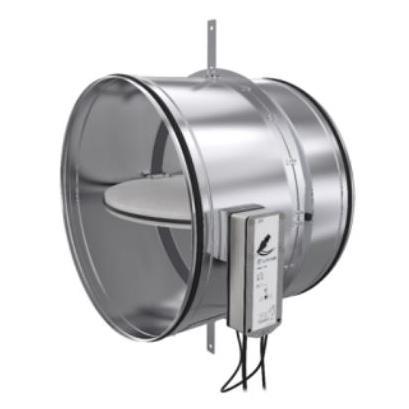 Clapet coupe feu circulaire, sécurité incendie, ventilation - EICSO Distribution