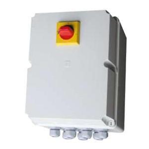 Coffrets de désenfumage pour parking, sécurité incendie, version désenfumage et ou confort 1 ou 2 vitesses, commande des extracteurs de désenfumage incendie - EICSO Distribution