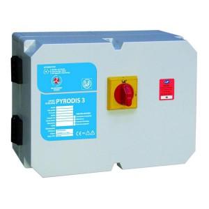 Coffrets de relayage électronique, sécurité incendie, version désenfumage et ou confort 1 ou 2 vitesses, commande des extracteurs de désenfumage incendie - EICSO Distribution