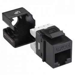 Noyau Keystone 6A connecteurs cuivre EXCEL NETWORKING pour câblage informatique - Réseaux Informatiques - EICSO Distribution