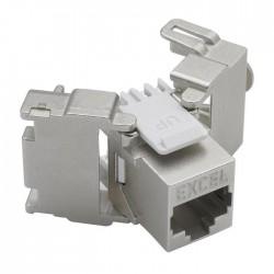 Noyau Keystone 6 - 6A connecteurs cuivre EXCEL NETWORKING pour câblage informatique, réseaux informatiques - EICSO Distribution