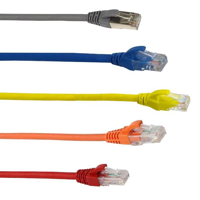 Cordons RJ45 câbles cuivre pour câblage informatique - Réseaux Informatiques - EICSO Distribution