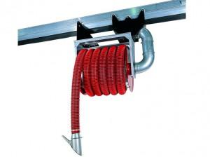 Enrouleur bras aspirant pour gaz d'échappement ventilation extraction d'air poussières fumées traitement conditionnement d'air - EICSO Distribution