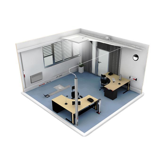 ENSTO Systèmes d'installation électrique goulotte prises électriques potelets