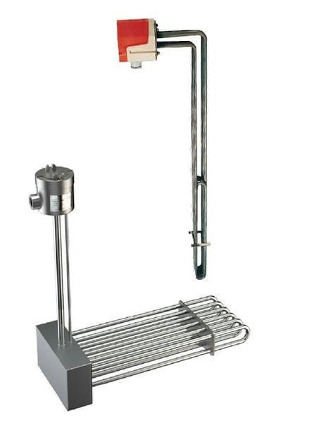 Résistance électrique Thermoplongeurs amovibles coudés pour chauffage de liquides - EICSO Distribution