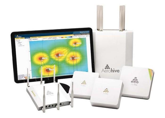 AEROHIVE Réseaux sans fils wifi et équipements actifs pour une mobilité accrue