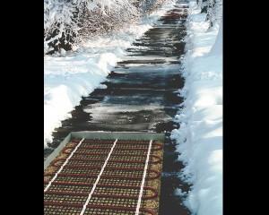 Trame Chauffante Câble chauffant pour extérieur électrothermie mise hors gel température